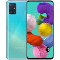 Samsung Galaxy A51 4G 128GB 4GB RAM Dual-SIM prism crush blue